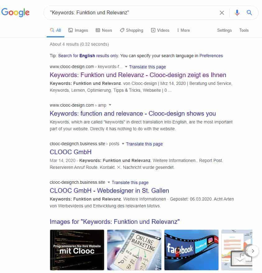 Wie funktioniert das Seitenranking bei Google?