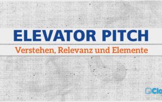 Elevator Pitch, Kommunikation