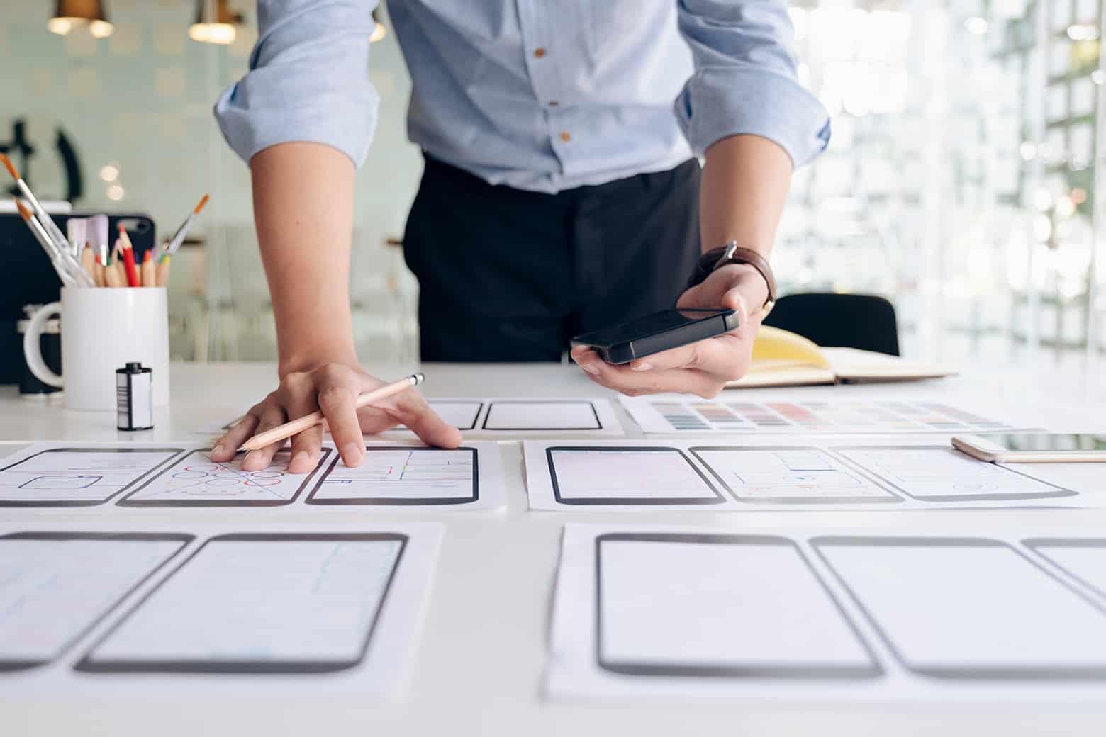 Webdesigner aus St.Gallen mit vielfältigem Leistungsangebot