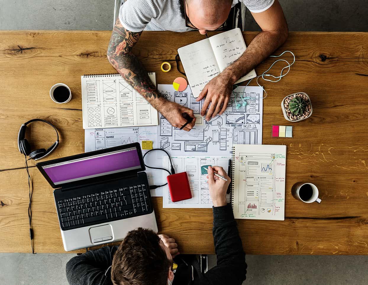 Webdesigner in St.Gallen gesucht? Kommen Sie zu CLOOC Design!