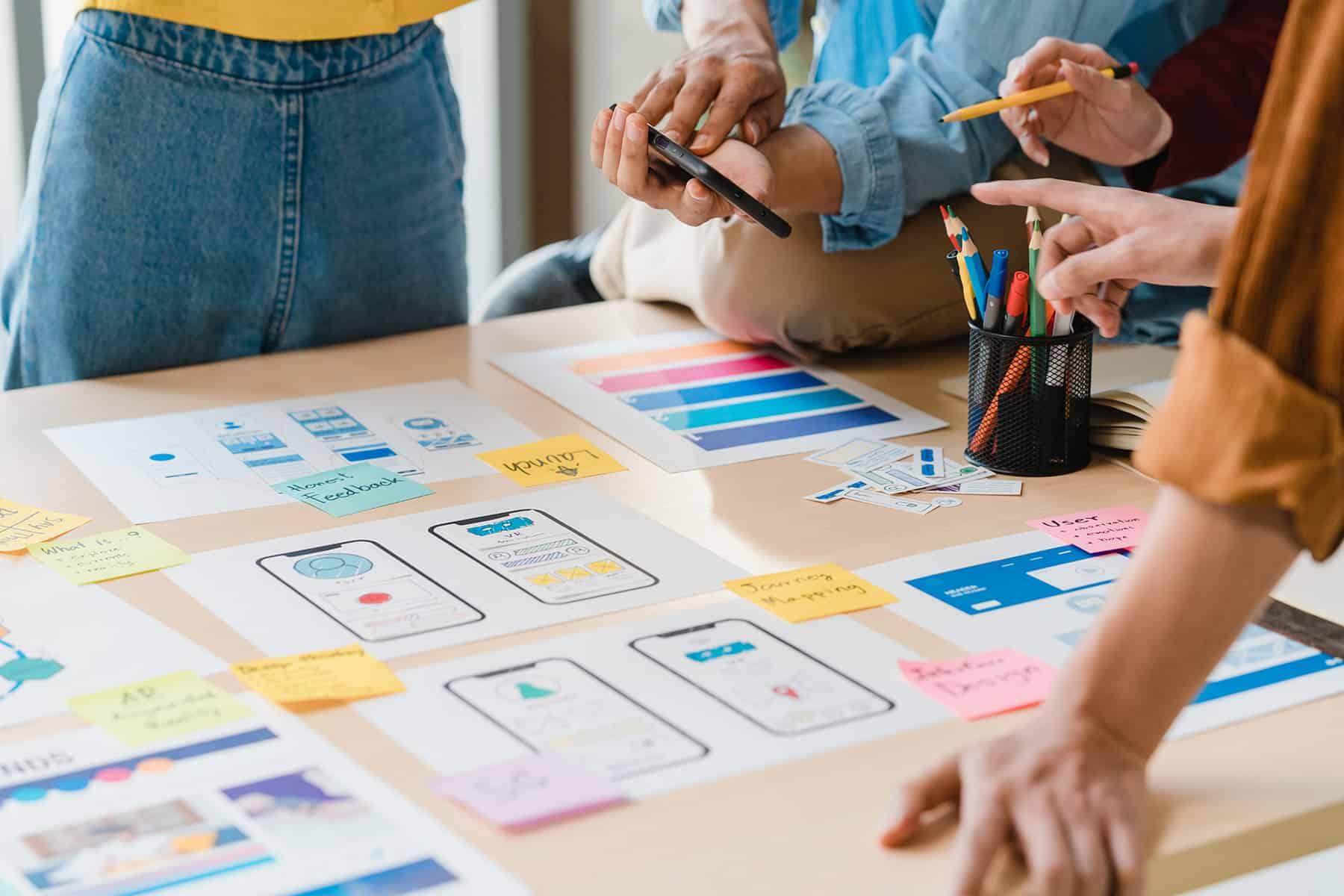 Design einer Webseite